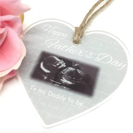 Daddy to be heart