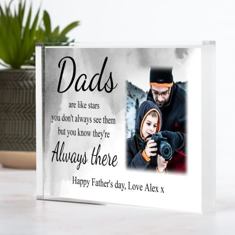 Father's day ... like stars photo block