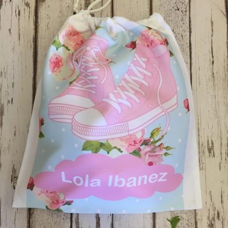 Personalised girls Shoe bag