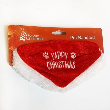 Dog, Yappy Christmas bandanna