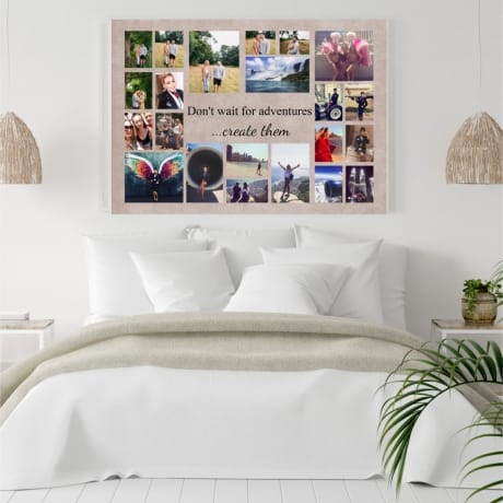 22 Photo Canvas Don't wait for adventures