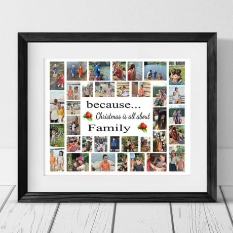 35 Photo Collage - Family Christmas