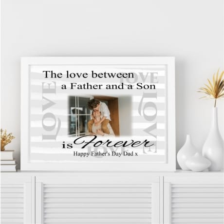 Father's day Wall Frame - The love between