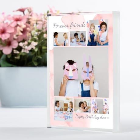 7 Photo Block Birthday Collage - Friend