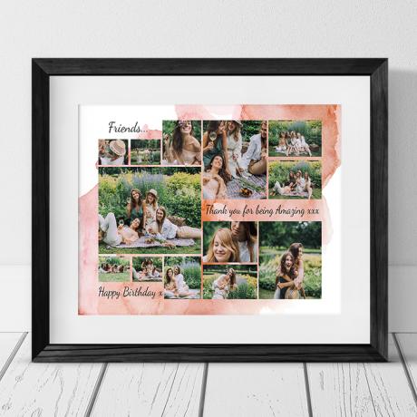 13 Birthday Photo Collage - Friend