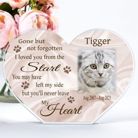 Photo Heart Block - Pet, gone but not forgotten