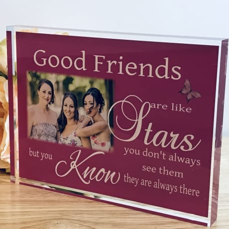 Personalised Keepsake - Good friends