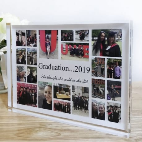 22 Photo Collage Graduation photo block