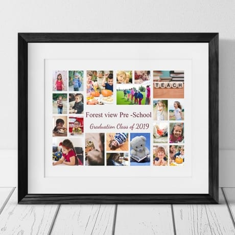 22 Photo Collage nursery graduation