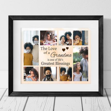 Personalised Keepsake -  Collage Photo Frame