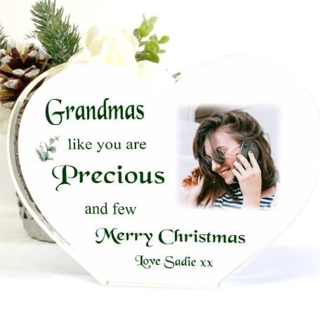 Christmas Heart Block Nan - Precious and few