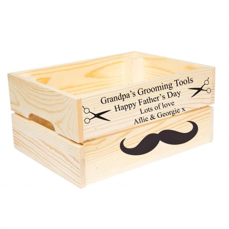 Personalised Grooming Tools Crate