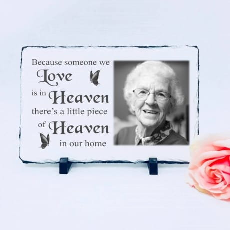 Lg Photo Slate - Heaven In Our Home