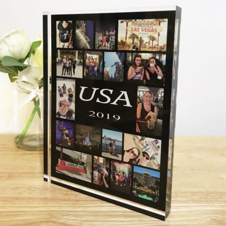 18 Photo Holiday Collage Block
