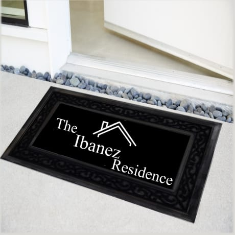 Personalised Family Residence Doormat