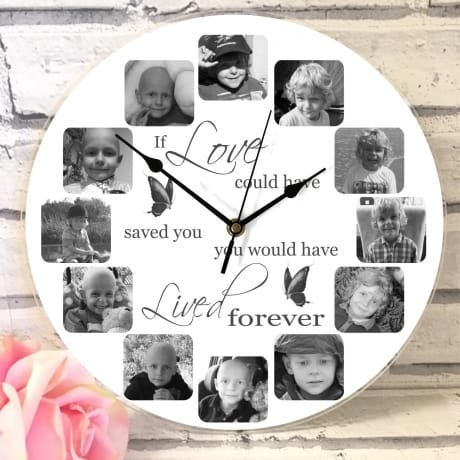 If love could have saved you : Clock