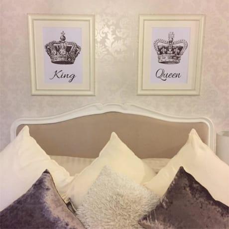 King & Queen Prints