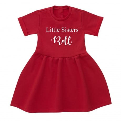 Little sisters roll dress