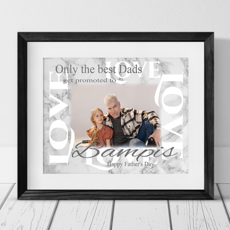 Personalised Father's Day Gift - Only the best get promoted