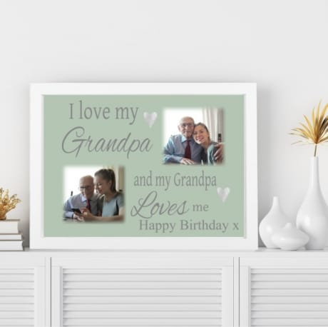 Love : Birthday Wall Frame