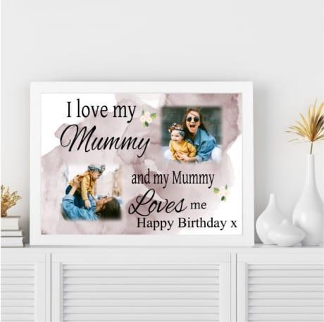 Love : Birthday Wall Frame