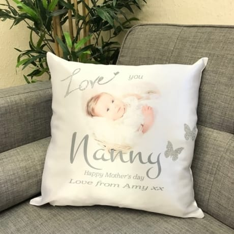 Personalised glitter cushion, add any name