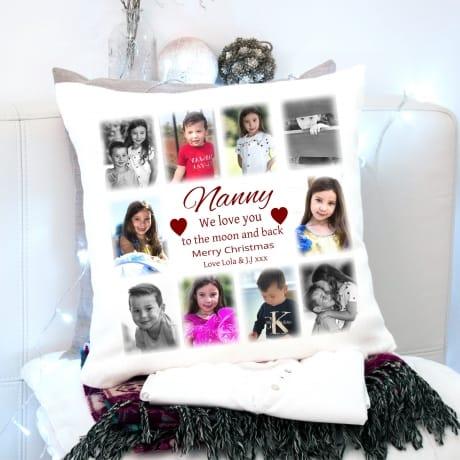 Christmas Cushion Nan - Love You To The Moon