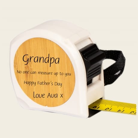 Personalised Tape Measure Design 3