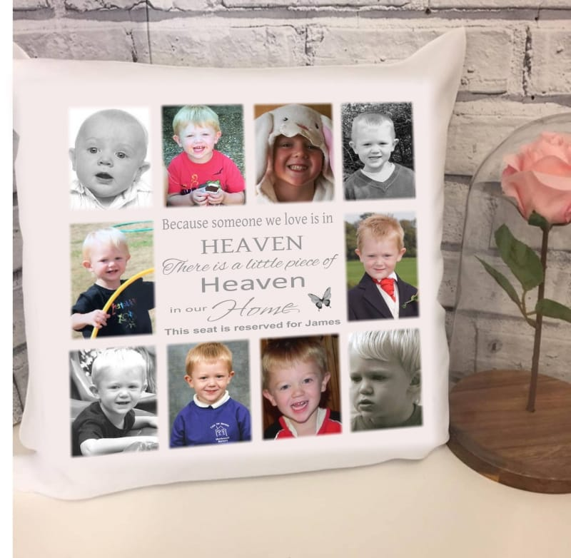 Personalised cushion - Heaven in our home 12 photos