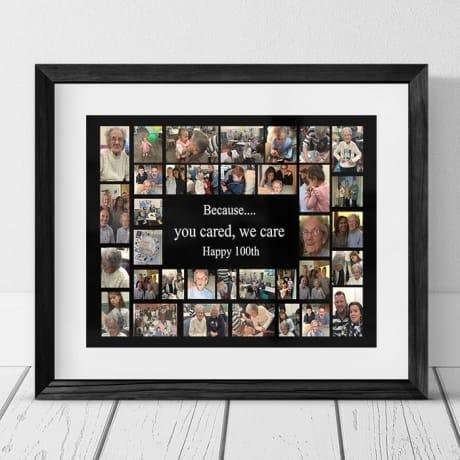 100th Birthday 35 Photo Collage