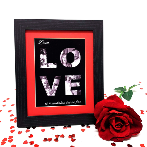Photo Collage Love Letters