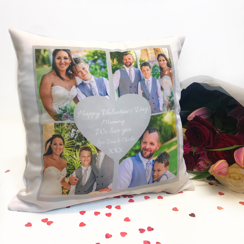 Personalised Valentine's Day Cushion - Mummy