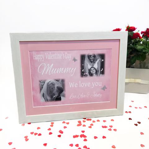 Happy Valentine's Mummy - frame, block or plaque