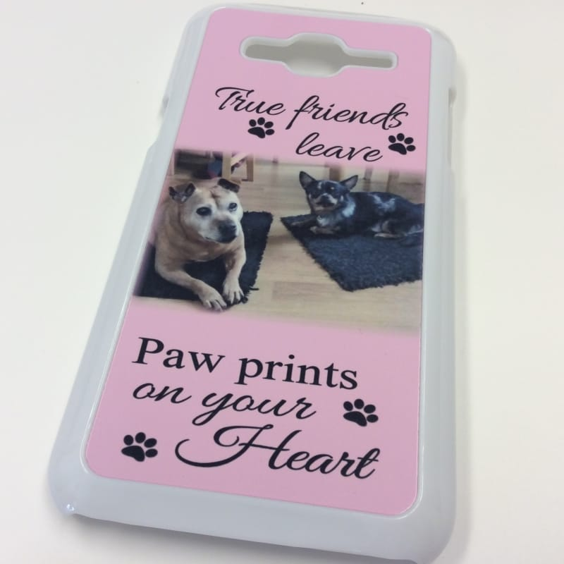 Phone case : Paw prints