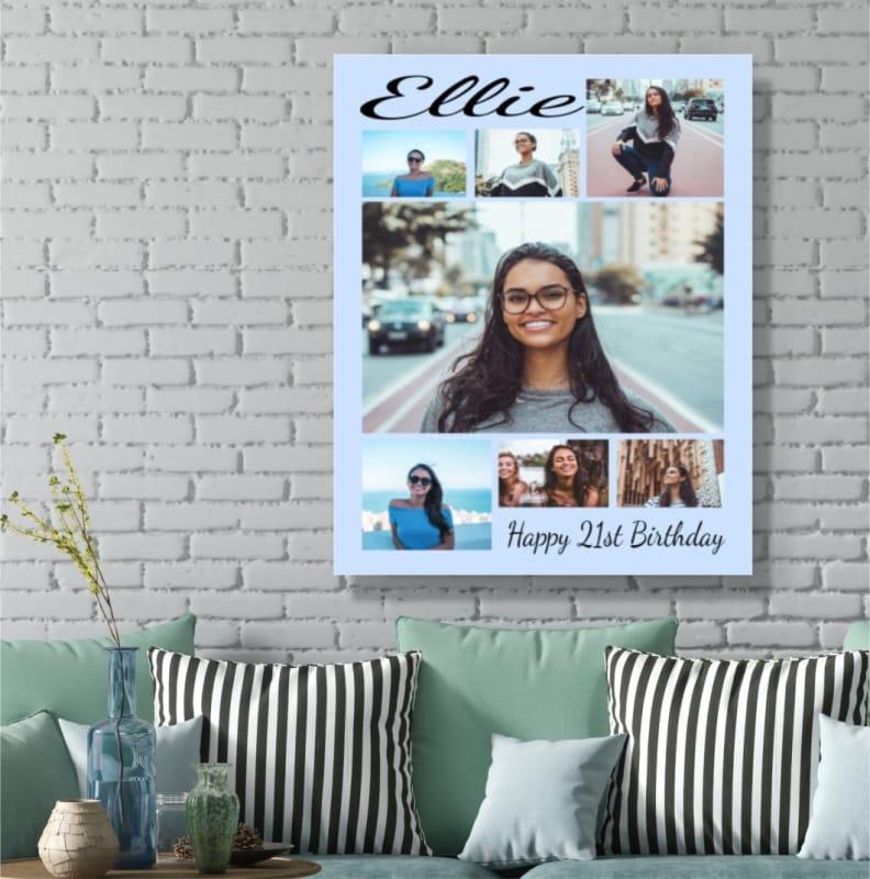 Birthday Photo Canvas