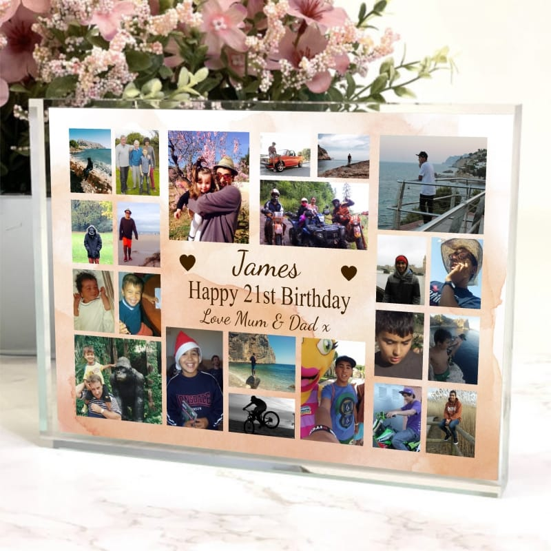 Happy Birthday - Photo Block Collage