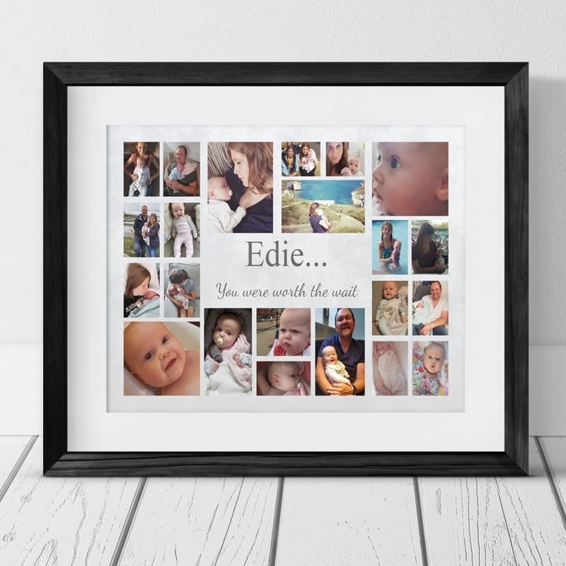 22 Photo Collage - Baby