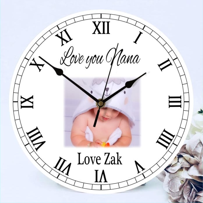 Clock  love you...ADD ANY NAME