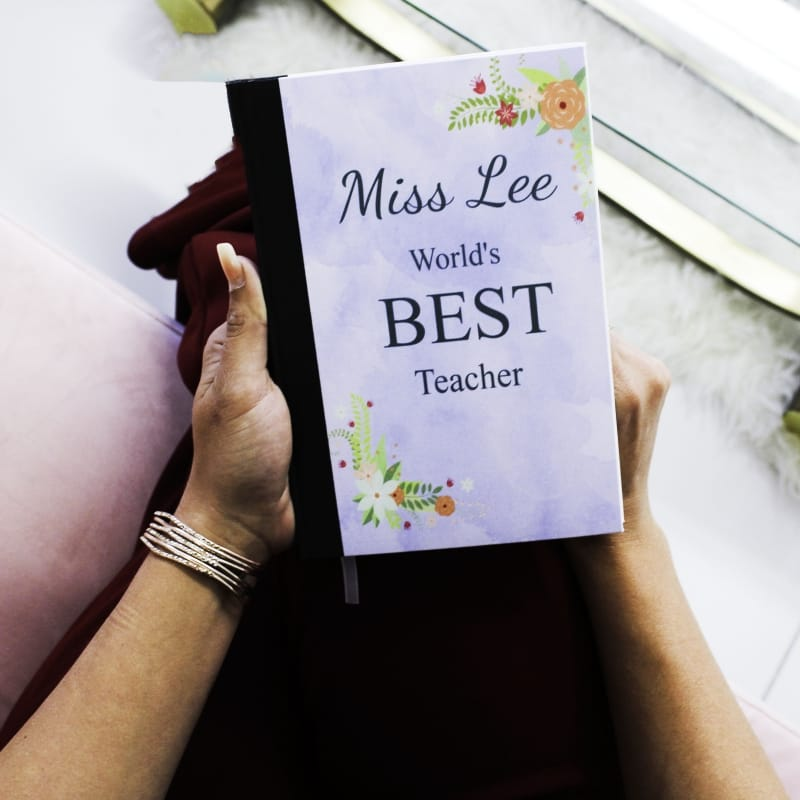 Best Teacher gift / Personalised note book