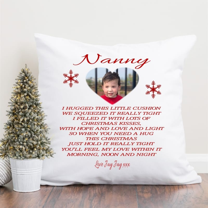 Cushion - Christmas I Hugged