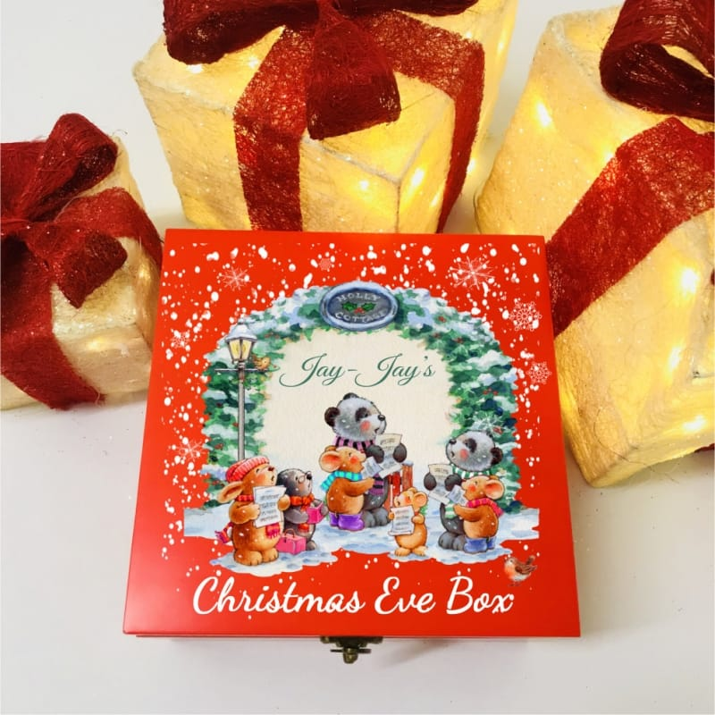 Carol Singers Personalised Christmas Eve Box