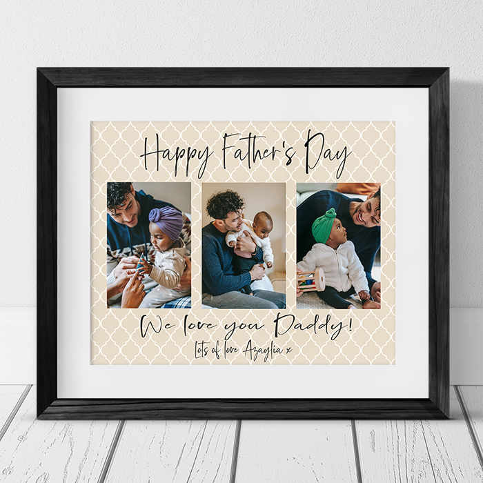 Father's Day Daddy Photo Collage