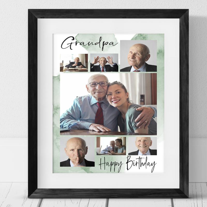 7 Photo Birthday Collage