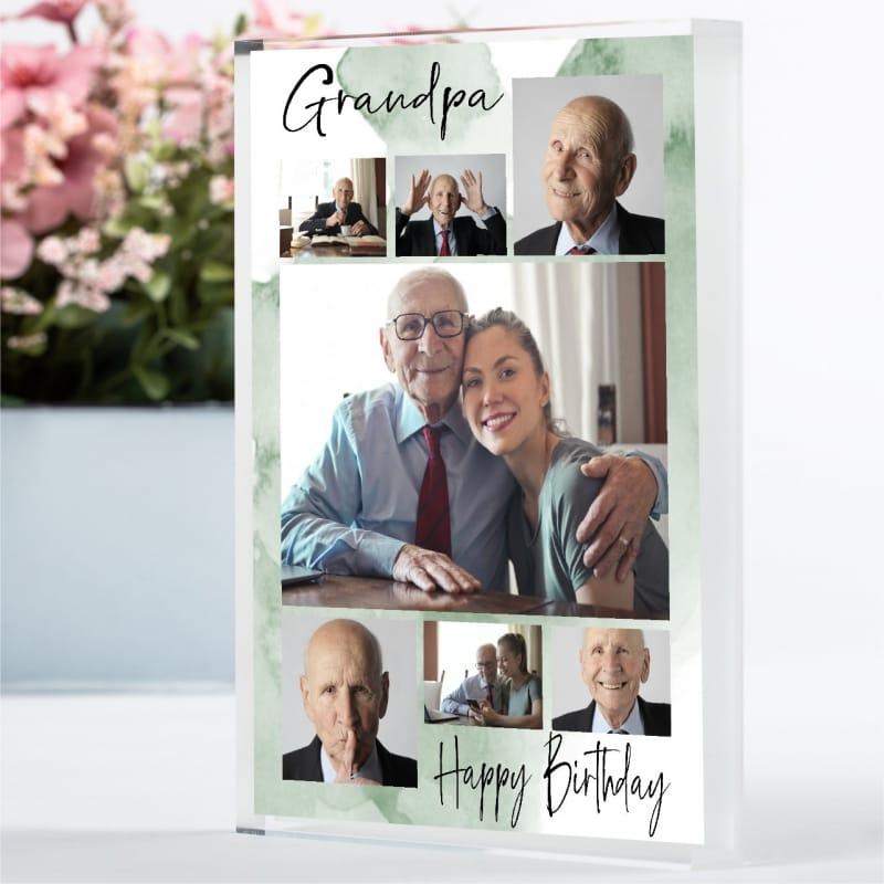 7 Photo Birthday Block Collage