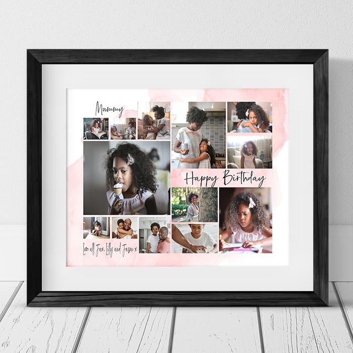 13 Photo Collage - Birthday