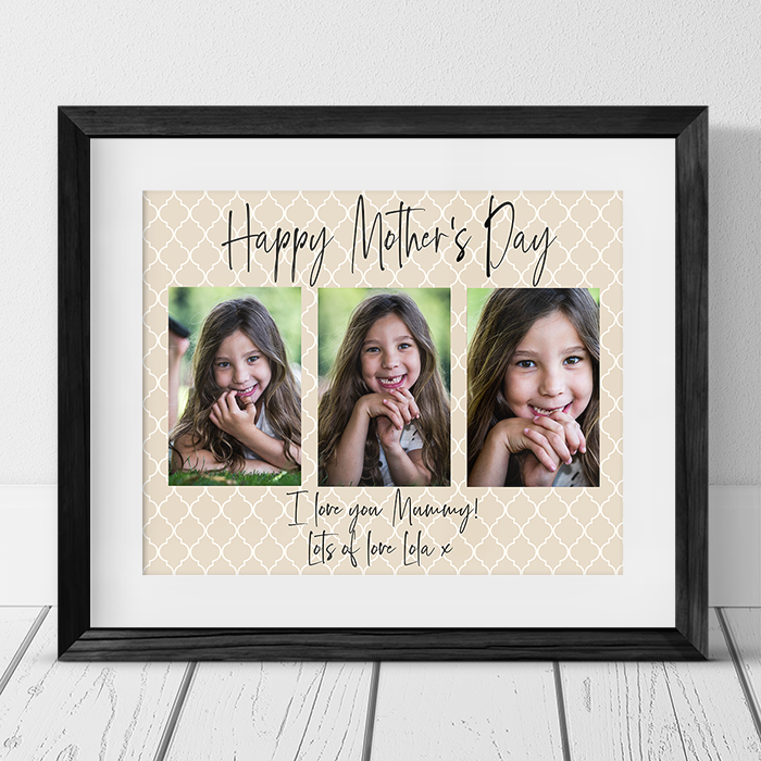 Mother's Day Mummy Photo Collage
