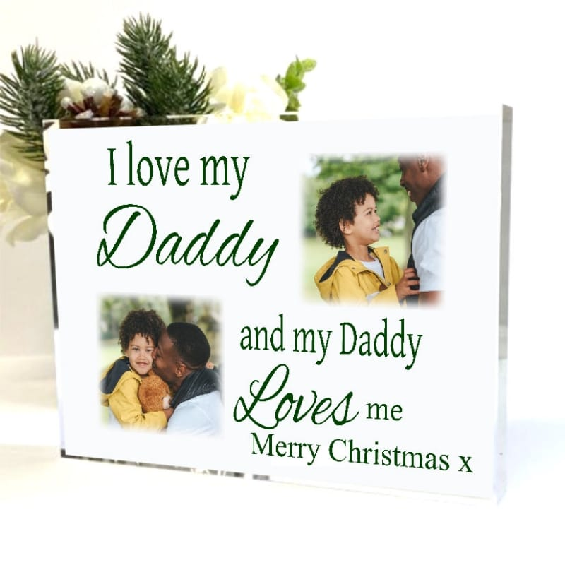 Love : Christmas Block Dad