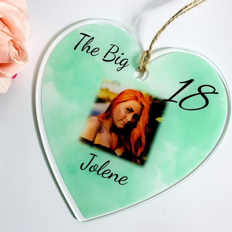 The big 18th Birthday Heart