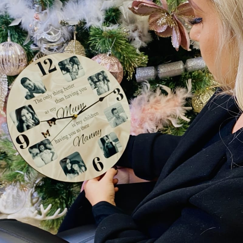 Personalised clock - The only thing better