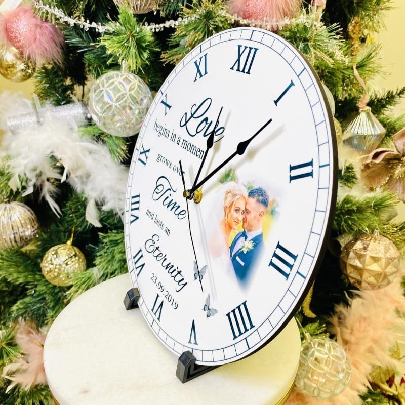 Personalised clock - Love